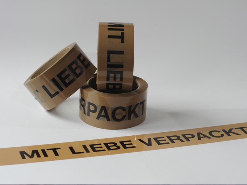 Klebeband Mit Liebe verpackt