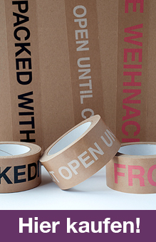 Das Packband Mit Liebe Verpackt Klebeband