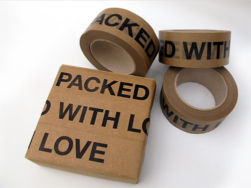 Packed with love - Päckchen